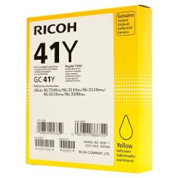 Ricoh 41Y Yellow (405764) (Genuine)