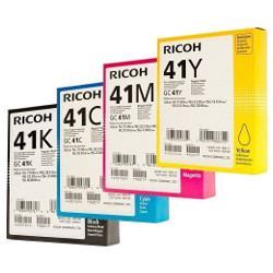 Ricoh 41 8 Pack Bundle (405761-4) (Genuine)